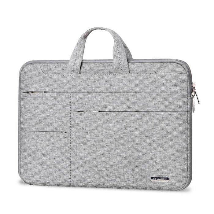 蘋果戴爾華碩12單肩14手提筆記本電腦包15.6內膽包男女公文包文件袋