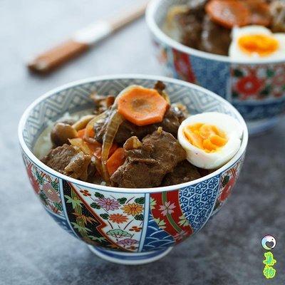 (免運)日式餐具和風陶瓷大號拉面碗吉野家家用沙拉湯碗碗筷單人一套精致