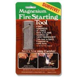 『登山屋』 緊急求生必備 美軍制式打火石 (鎂塊) Magnesium Fire Starting Tool _DOAN
