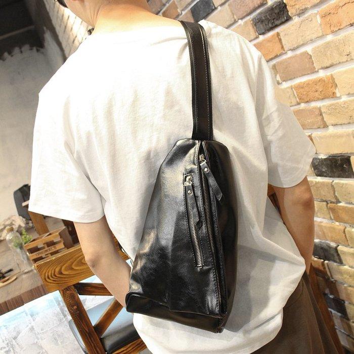 男包 休閑胸包2018新款韓版男包PU胸包側背包后背包潮流小挎包XPBP26