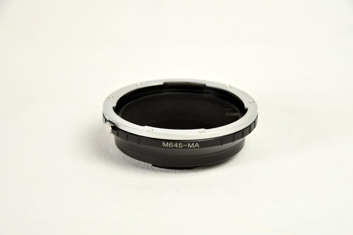 Mamiya 645 鏡頭轉 SONY MA 接環