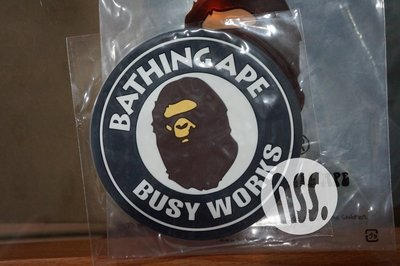 「NSS』A BATHING APE bape RUBBER COASTER 杯墊