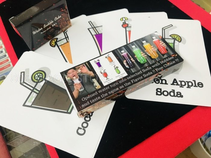 [808 MAGIC] 魔術道具 專業版 Water Bubble Coke Version2 可表演多種口味 可飲用
