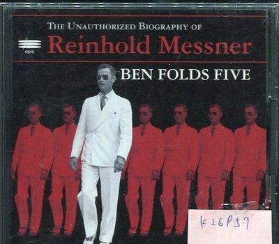 *真音樂* REINHOLD MESSNER / BEN FOLDS FIVE 日版 二手 K26957