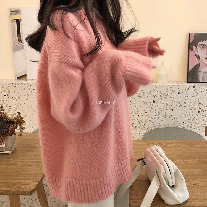〃尐影あ裝`〆  慵懶風很仙的毛衣INS女秋冬2020潮新款正韓寬松外穿針織衫洋氣上衣