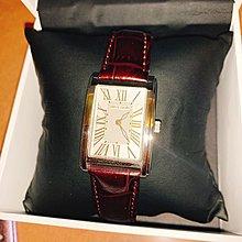 Pierre Cardin Paris Ladies Watch brown leather arte lv巴黎典雅超靚啡色油皮真皮表帶羅馬數字面女裝手錶 手鐲