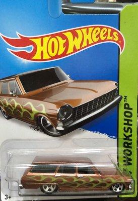絕版風火輪 Hot Wheels '64 Chevy Nova美國老車  雪佛蘭