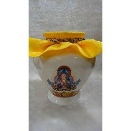 甘丹文物^^地藏王菩薩 大寶瓶** 如法裝臟開光加持