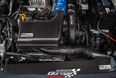 德朋國際 /FORGE 碳纖維 進氣套件 VolkW GOLF 1.4 實裝