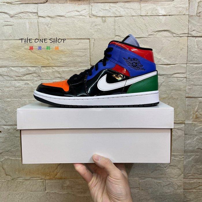 AIR JORDAN 1 MID SE WMNS AJ AJ1 1代 高筒 黑紅藍綠橘 籃球鞋 CV5276-001