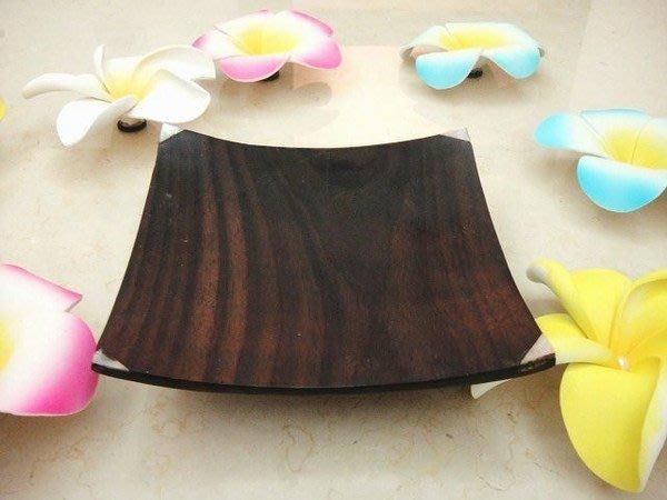 Y【永晴峇里島】巴里島小木製鑲貝殼盤,增添異國風味,居家,民宿,飯店都好用-盤9