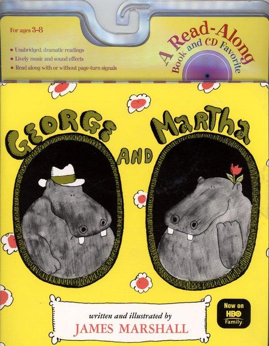 *小貝比的家*GEORGE AND MARTHA/平裝+CD /3~6歲/汪培珽--第五階段