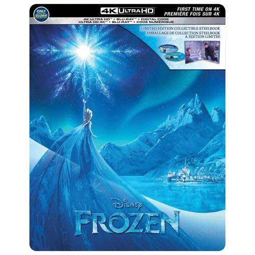 迷俱樂部|現貨!冰雪奇緣 [藍光BD] 4K UHD+BD 雙碟鐵盒版 美版 Frozen 迪士尼 奧斯卡最佳動畫