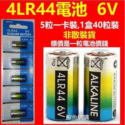 (正品卡裝足電壓) 4LR44 6V 止吠器電池 美容筆 訓狗器 照相機 雷射筆 遙控器 汽車防盜器等儀器電池 高雄市