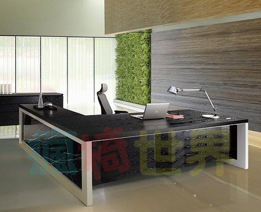 《瘋椅世界》OA辦公家具全系列 訂製高級 主管桌 EN-A9031W(董事長桌/老闆桌/辦公桌/工作桌)需詢問