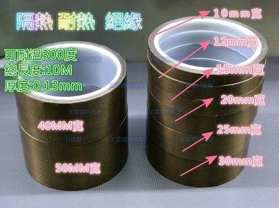 含稅 隔熱 耐熱 絕緣15mm 耐熱膠帶 特氟龍膠帶耐磨 封口機隔熱帶 鐵氟龍耐高溫膠布 寬度可任意裁剪#GD170