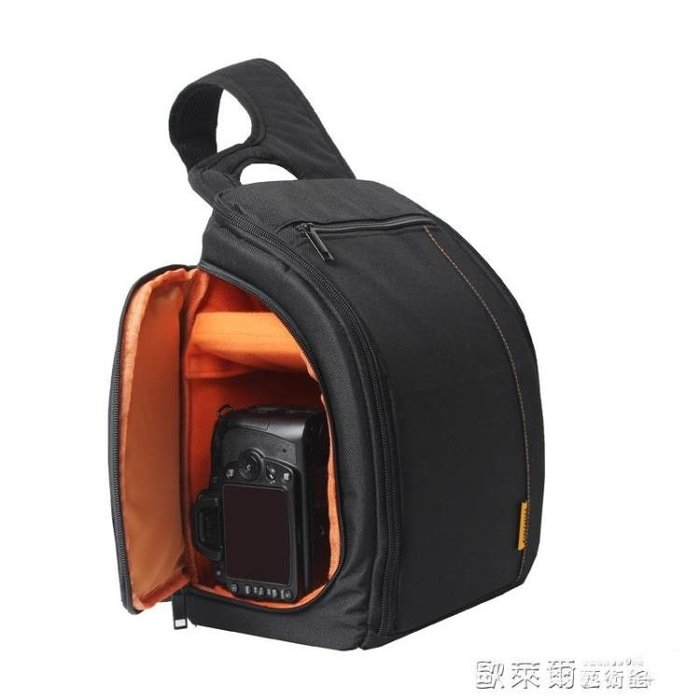相機包 卡登新款單反相機包斜跨攝影包單肩多功能防水包數碼防盜簡約