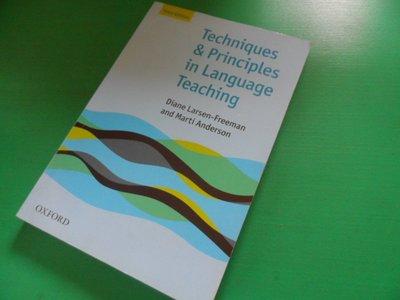 大熊舊書坊-Techniques & Principles in Language Teaching   -品38