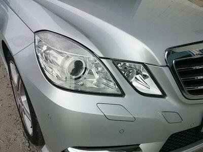 《※台灣之光※》全新BENZ 13 12 11 10 09年W212原廠型晶鑽魚眼頭燈大燈E200 E220 E250