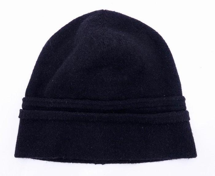 【DIOR HOMME】羊駝毛 毛帽 黑