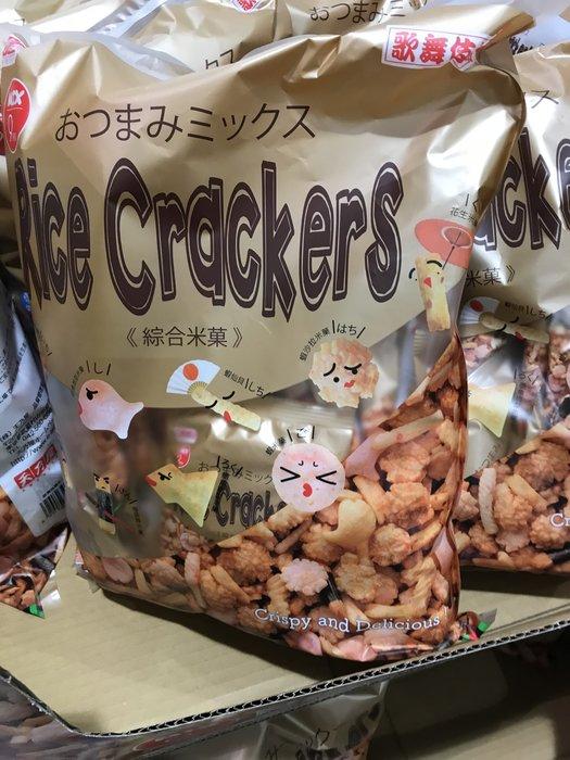 (510元)COSTCO好市多代購歌舞伎揚綜合米果/米菓(22g*30包)
