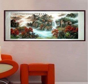 【優上精品】精品 山水畫國畫風水畫 鴻運當頭聚寶盆1 小八尺已裝裱(Z-P3254)