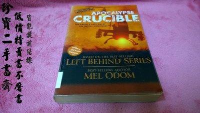 【珍寶二手書齋FAA】 Apocalypse Crucible Odom, Mel