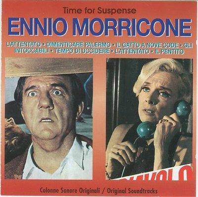 """[原聲帶]-""""Time for Suspense""""- Ennio Morricone(13),義大利版"""