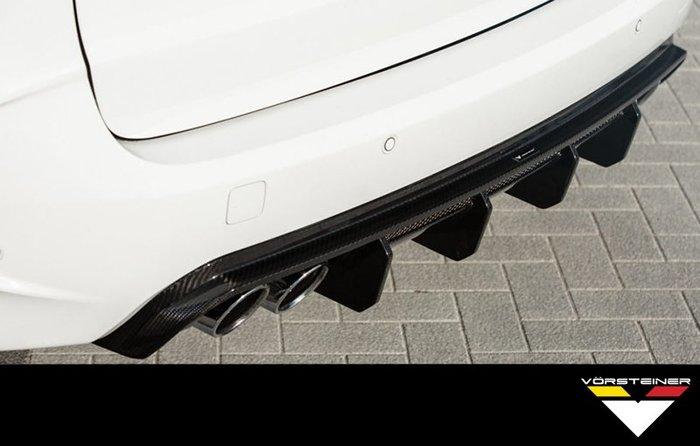 【樂駒】Vorsteiner BMW X5M F85 X6M F86 carbon diffuser 碳纖維 後下巴
