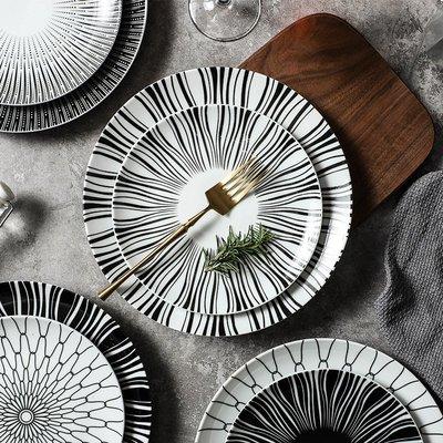 有一間店-北歐擺盤餐具 簡約創意西餐盤意面盤西式甜品盤個性餐廳 盤子(規格不同 價格不同)