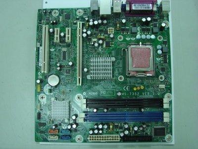 *nbpro*筆電維修主機板維修買賣,HP DX7400主機板(447583-001)(480909-001),MS-7352,價格只要$1800