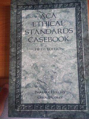 (20)《Aca Ethical Standards Casebook》ISBN:1556201508│些微泛黃