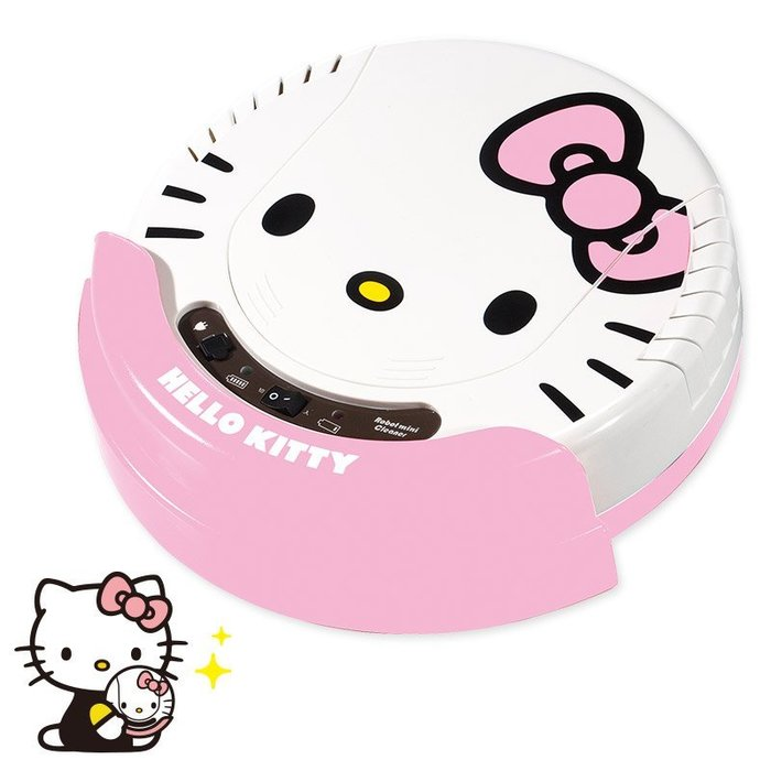 HELLOI KITTY 凱蒂貓  吸塵器 掃地機器人 日本 限定 現貨 小日尼三 41+ 代購