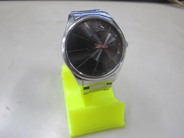 二手舖 NO.1257 Calvin Klein CK時尚經典錶 百搭腕錶  男錶 手錶