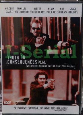 E4/ 全新正版DVD / 痞子大逃亡 TRUTH OR CONSEQUENCE N.M. (極光追殺令 基佛蘇德蘭)
