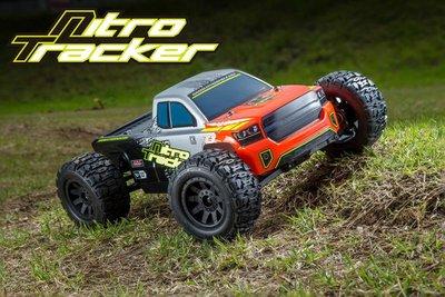** RC 小舖** 現貨(可倒退)KYOSHO京商 33101 1/10 Nitro Tracker 引擎大腳車RTR