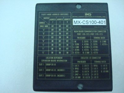 STEP MOTOR DRIVER & CONTROLLERMICROLYNX-4(WS)【PHASE OUT】