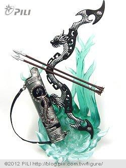 霹靂激鬥武器名鑑Premium系列2011第十二彈 蒼龍弓 現貨