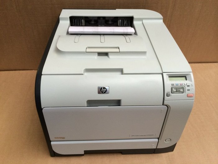 印專家 整新品  HP CP2025DN  彩色網路雙面印表機