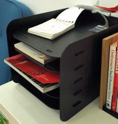 Growlife 種生活 ▶韓國 Unminuto - 5 basic wood file cabinet  5層木紋多功能文件收納櫃/置物架/層架