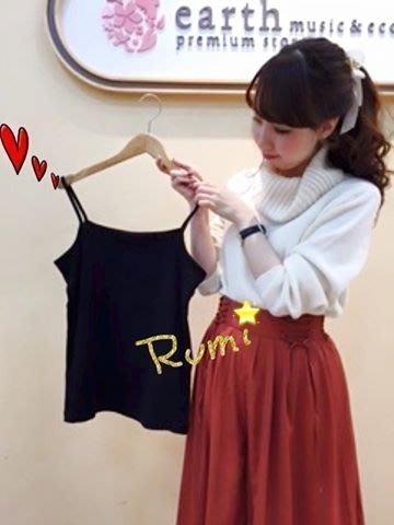 日本代購 花露米。花rumi in JP 日本知名品牌 earth 棉95% 蕾絲小可愛 四季皆可穿 特價 現貨
