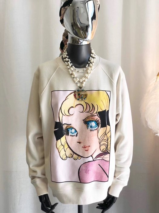 《巴黎拜金女》閃亮雙眼Girl衛衣