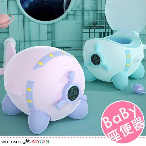 HH婦幼館 小飛機造型升級PU墊寶寶坐便器 訓練器 便盆 尿桶【3F170M627】