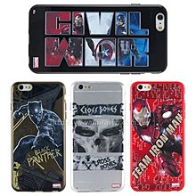 愛蘋果❤️ MARVEL iPhone 6/6s《美國隊長3:英雄內戰》透明保護軟套 現貨供應