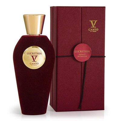 V Canto Lucrethia Extrait de Parfum  香草茉莉可可 美食白花香 國外代購 特價
