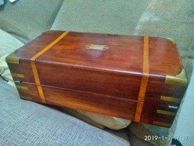 諸羅山人~~~~道光年間海南黃花梨木製玩具 大書寫文具盒  外銷創匯藝術,50cm