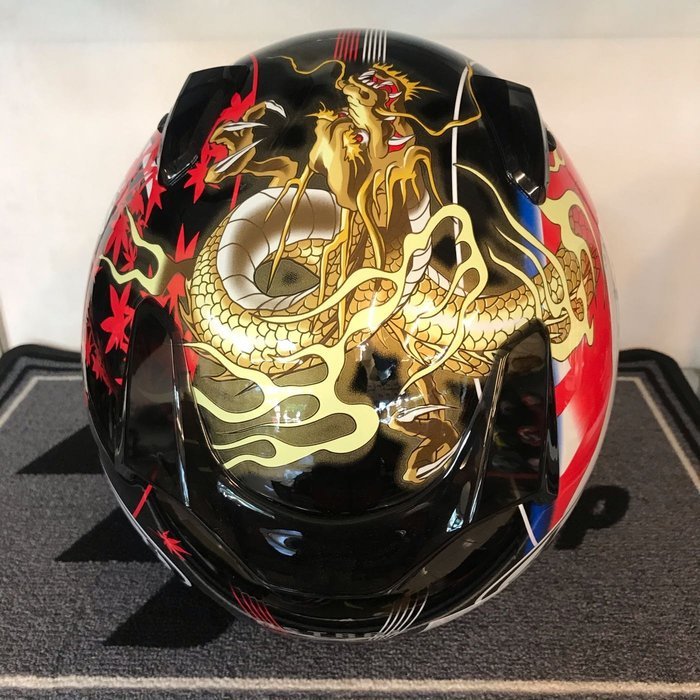 大里Moto2輪館 2020Arai ASTRAL-X 東洋風彩繪 特價$16800元(總代理)