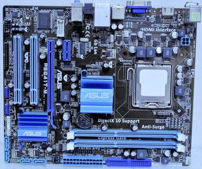 ~ 駿朋電腦 ~ 華碩 P5G41T-M / 775 / G41 / DDR3 / 顯示 $600