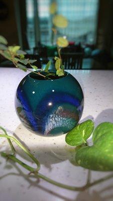 {80,90 與未來}陶瓷球形花器 花瓶