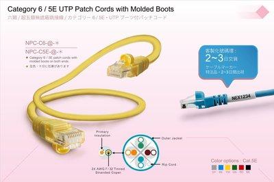 【TurboShop】原廠 NEX1 24AWG 高密度遮蔽Category 6 UTP 網路線(整包.9條.3米.灰)